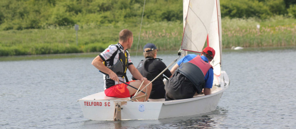 Telford Sailing Club Taster Day on Sunday 5th September,  10.00am – 4.00pm
